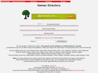 Names Directory