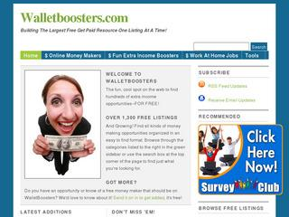 Earn Extra Income - WalletBoosters.com